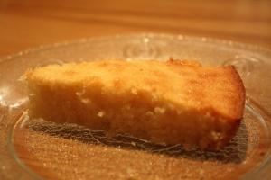 Gâteau léger noisettes-amandes./ Photo DR Lexie Swing