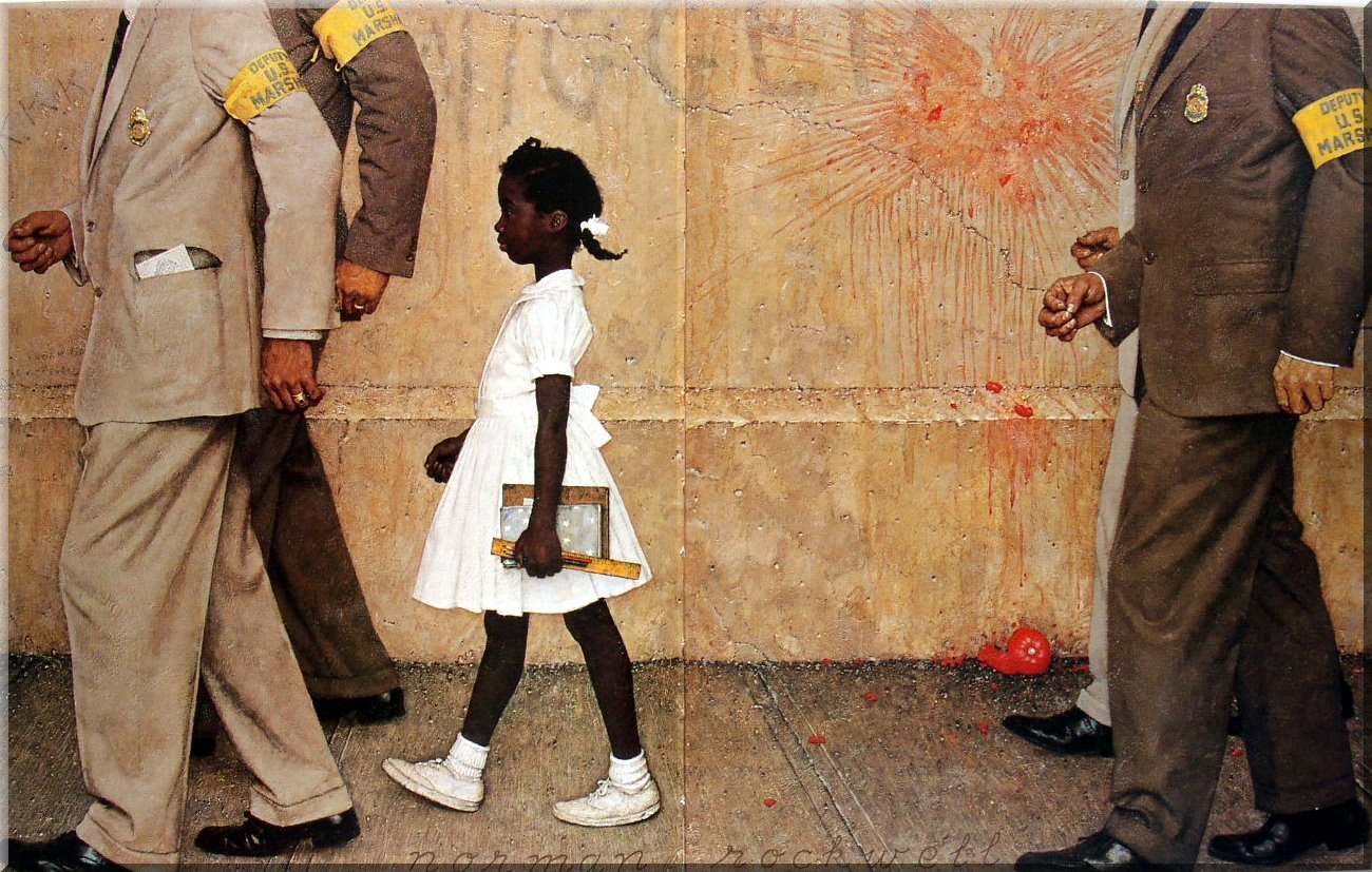 Rockwell The Problem We All Live With