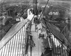Panorama montréalais de 1927./ Archives du musée McCord