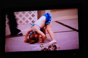 Aux USA, les mini-miss ont leur propre télé réalité./ Photo Szapucki