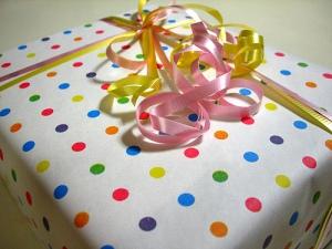 Cadeau de naissance./ Photo Maaco