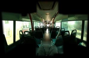 Inside bus./ Photo Daniil Vasiliev