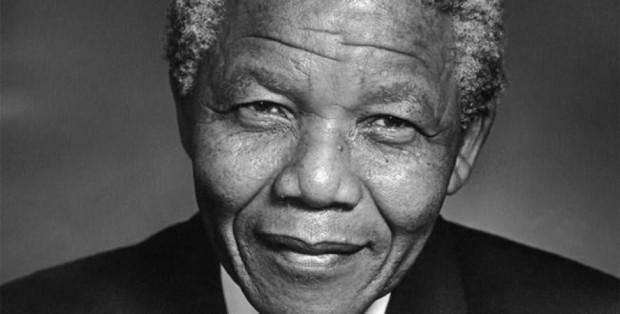 Nelson Mandela./
