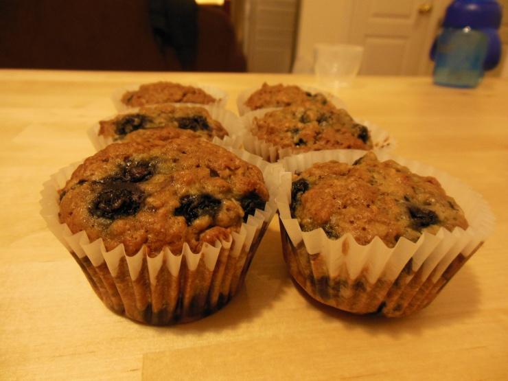 Muffins aux bleuets./ Photo DR Lexie Swing