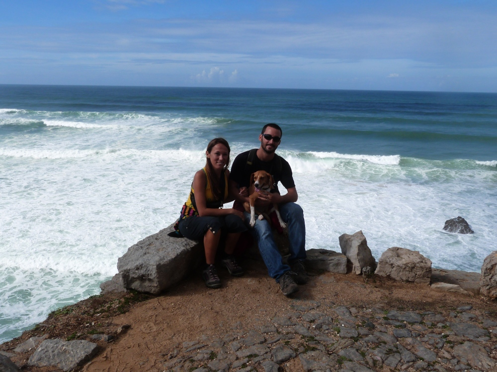 Jennyfer et son mari./ Photo DR Jennyfer Coville
