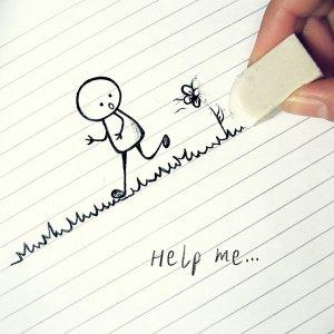 Help me./ Photo Vdtainfo