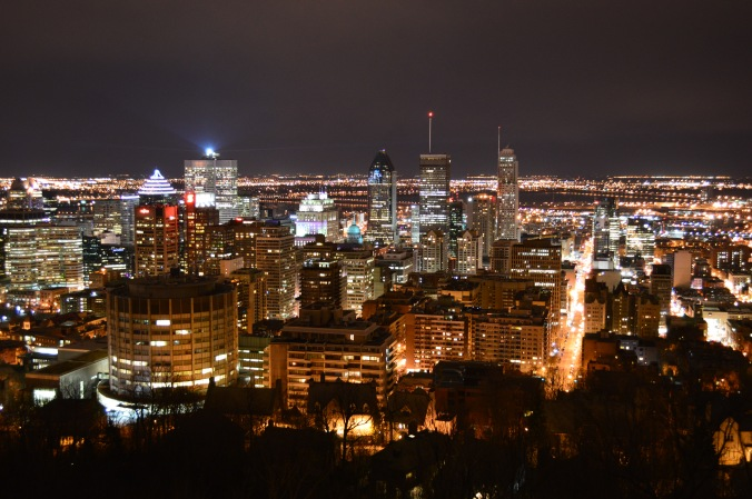 Montréal, vue du Mont-Royal./ Photo DR Lexie Swing