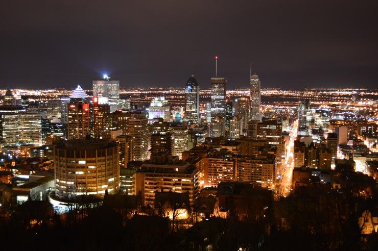 Montréal, vue du Mont-Royal./ Photo DR Lexie Swing