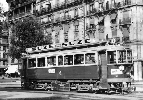 Tramway de Genève./ Photo Alain Gavillet