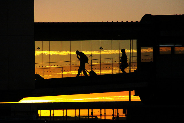 Aéroport./