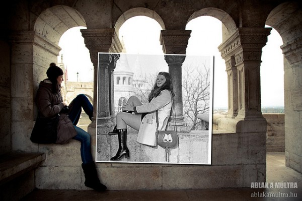 La série Window to the past./ Photo Kerényi Zoltán