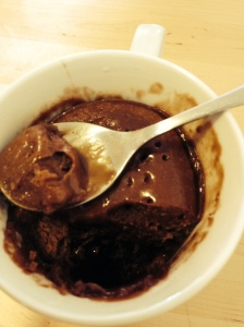 Mug cake au chocolat./ Photo DR Lexie Swing