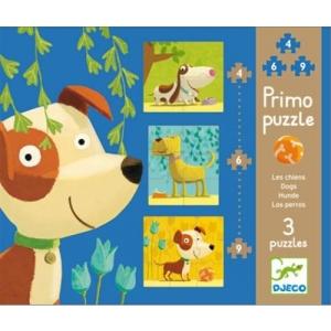 Primo puzzle chiens de Djeco
