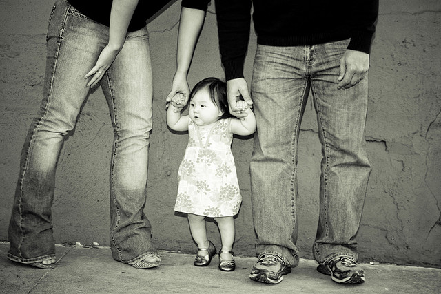 Une toute petite fille./ Photo Erkillian5