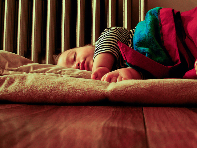 Dean sleeping./ Photo Andrew Malone