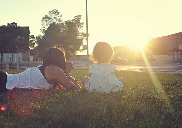 Deux soeurs./ Photo Amanda Tipton