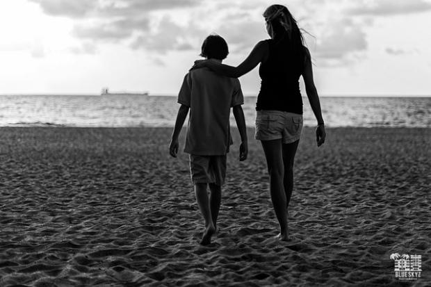 Mother and son./ Photo Blue Skyz Studios