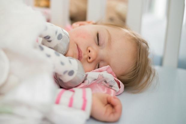 La sieste de la petite Reese./ Photo Donnie Ray Jones