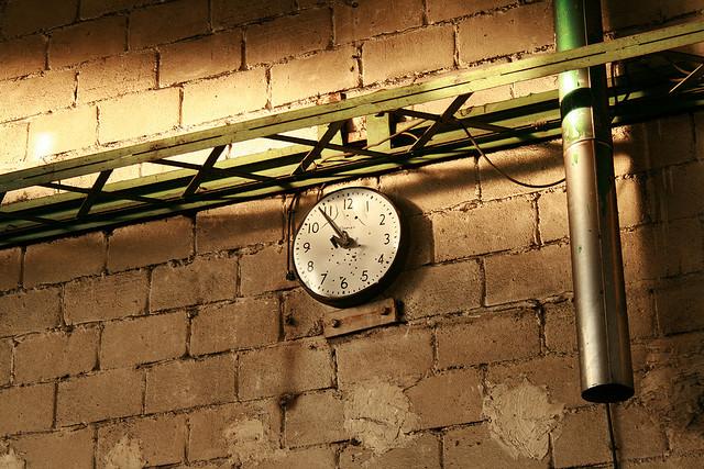 Le temps s'arrête./ Photo Simon LeBlanc
