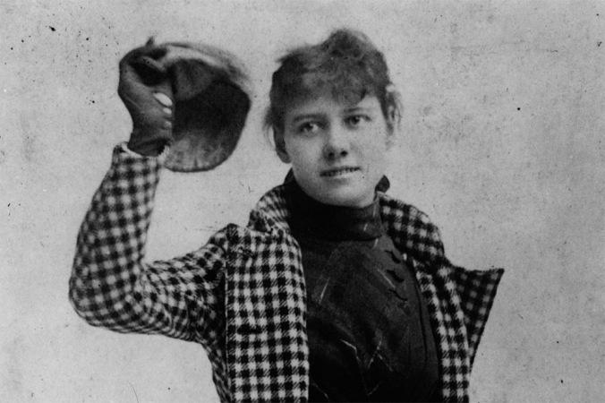 Nellie Bly, l'une des premières femmes journalistes vraiment influentes./ Photo Newseum