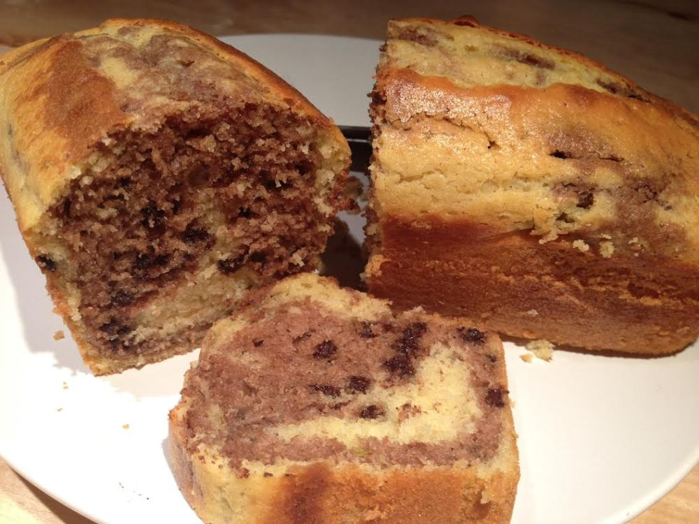 Cake marbré./ Photo DR Lexie Swing