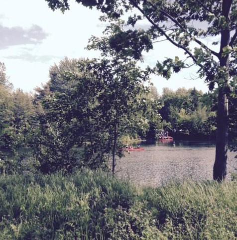 Autour du lac./ Photo DR Lexie Swing