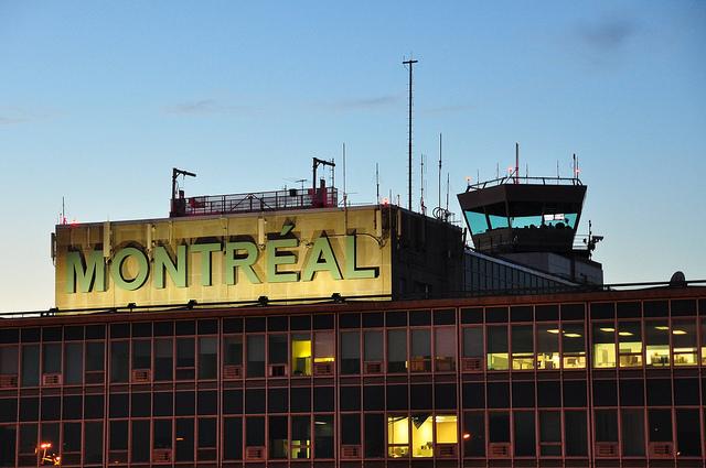 Aéroport de Montréal./ Photo abdallahh