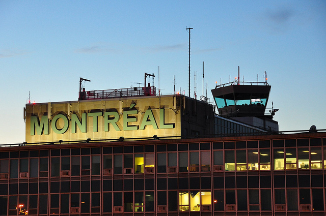 Aéroport de Montréal./ Photo abdallahh