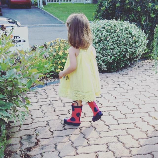 En bottes pour l'automne./ Photo DR Lexie Swing