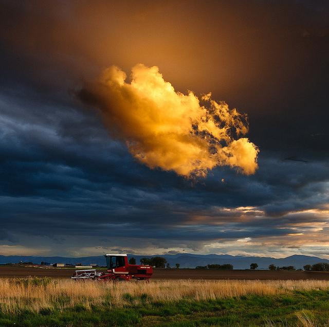 Nuages./ Photo David Kingham