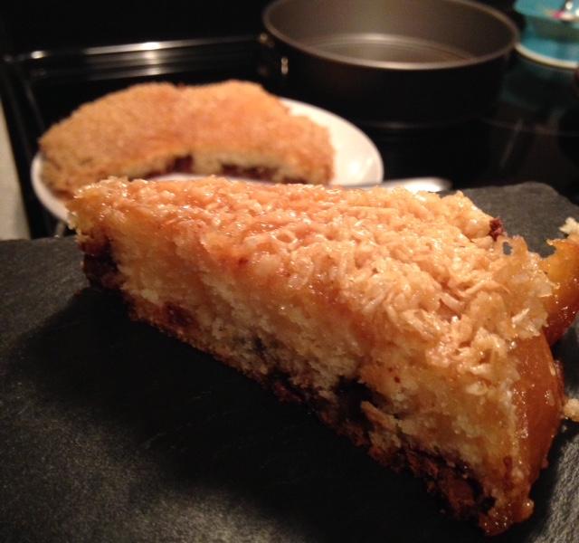 Gâteau chocolat-noix de coco./ Photo DR Lexie Swing