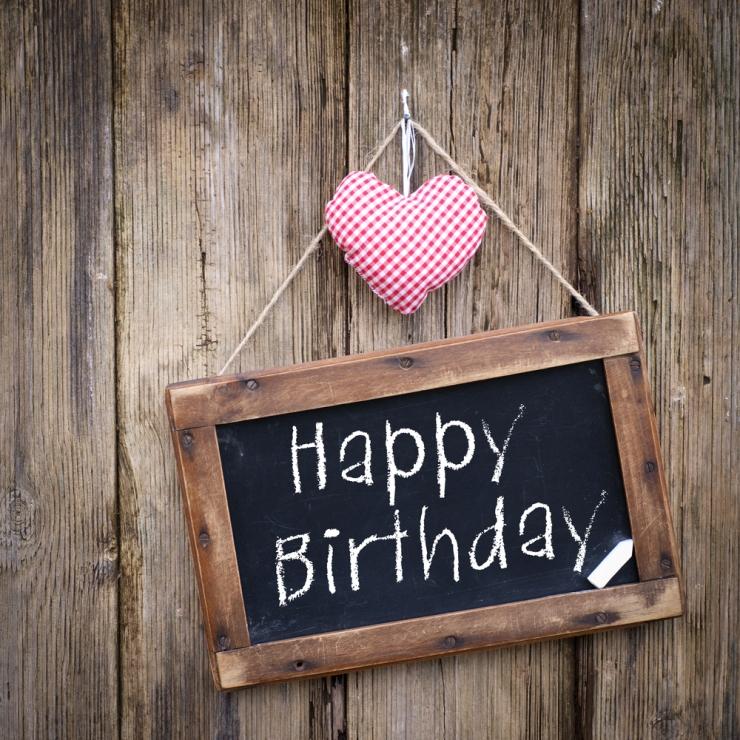 Happy Birthday./