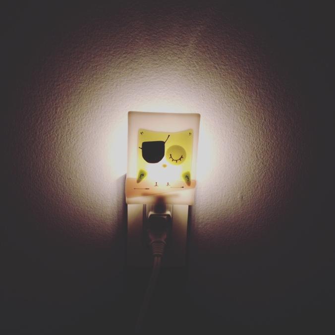La veilleuse de la petite mandarine./ Photo DR Lexie Swing