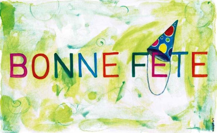 Bonne fête./ Photo Rendezvousenfrançais