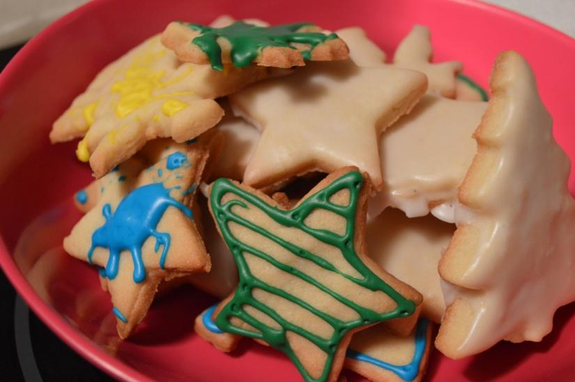 Nos biscuits de Noël./ Photo DR Lexie Swing