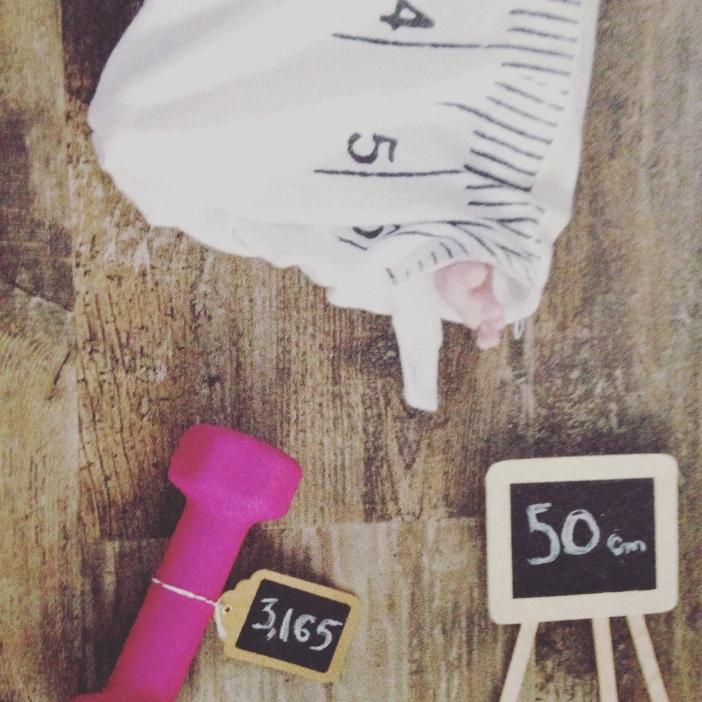50 cm à la naissance./ Photo DR Lexie Swing