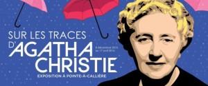 L'exposition A. Christie./ Affiche Pointe-à-Callière museum