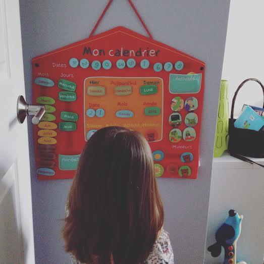 Le calendrier Oxybul./ Photo DR Lexie Swing