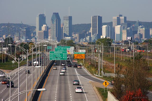 Montréal, vue de Longueuil./ Photo Alex Drainville