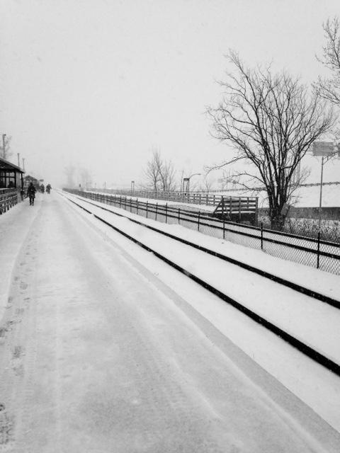 Saint-Bruno sous la neige./ Photo DR Lexie Swing