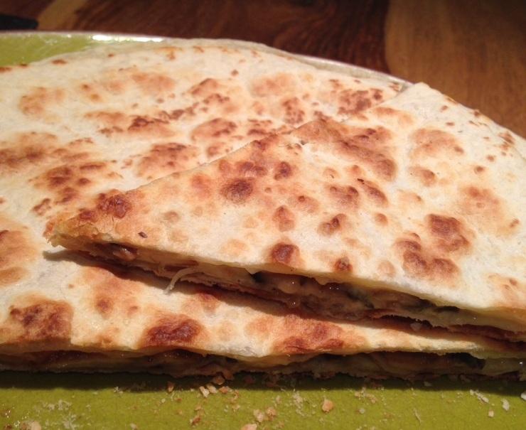 Tortilla fondante aux champignons./ Photo DR Lexie Swing