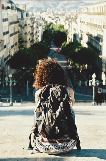Vue de dos./ Photo Cristian