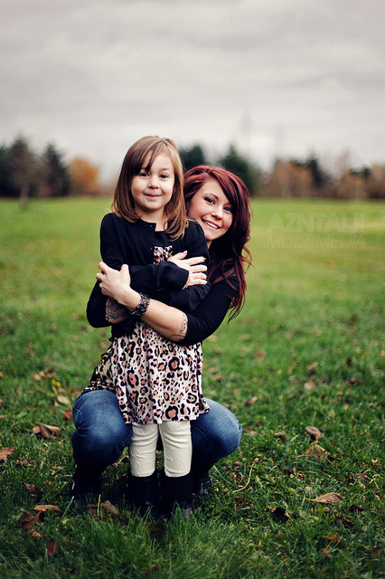 Mother and daugther./ Photo Zach Taiki