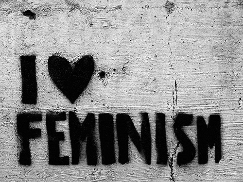 Feminism on the wall./ Photo DR Lexie Swing
