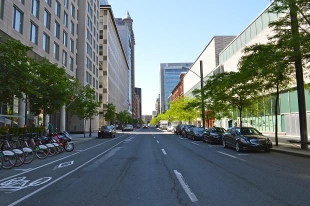 Rue Saint-Antoine Ouest./ Photo DR Lexie Swing