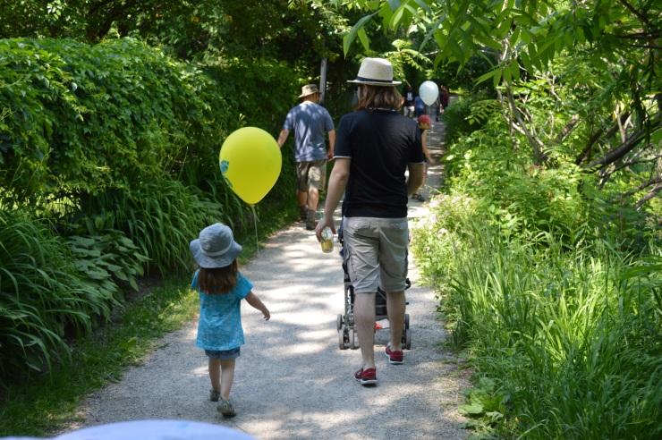 Balloune aux couleurs de la fête./ Photo DR Lexie Swing