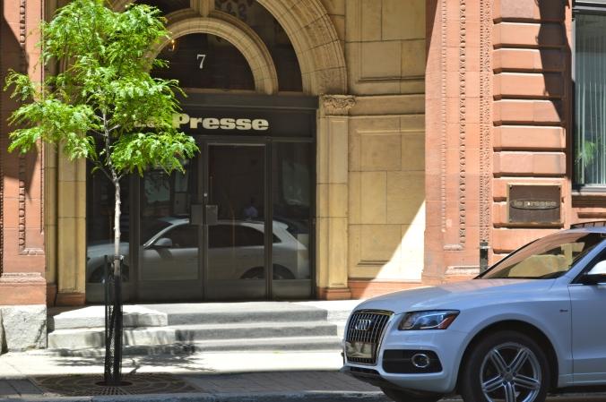 Les bureaux de La Presse./ Photo DR Lexie Swing