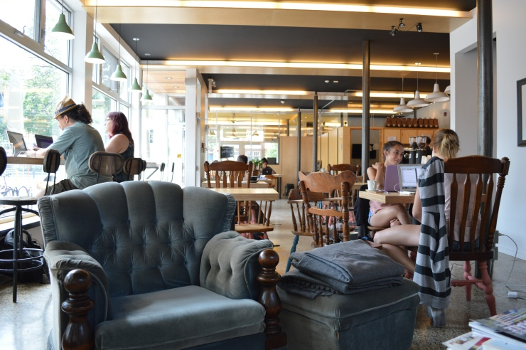 Le café Perko./ Photo Lexie Swing